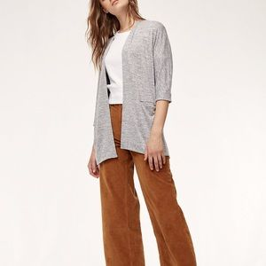 Aritzia's Wilfred Free Zlata Sweater - Maroon